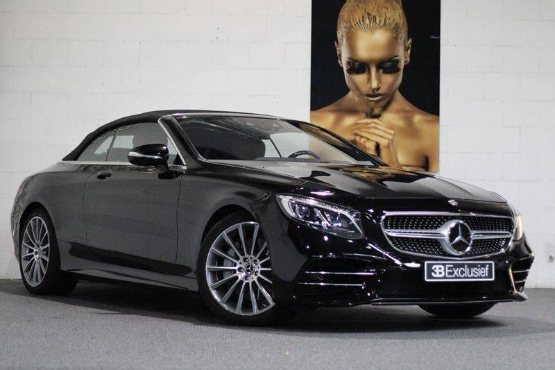 Mercedes-Benz S-Klasse Cabrio 560 Premium Plus AMG-pakket, Burmester, 360 camera, Alcantara hemel, Stoelkoeling afbeelding 1
