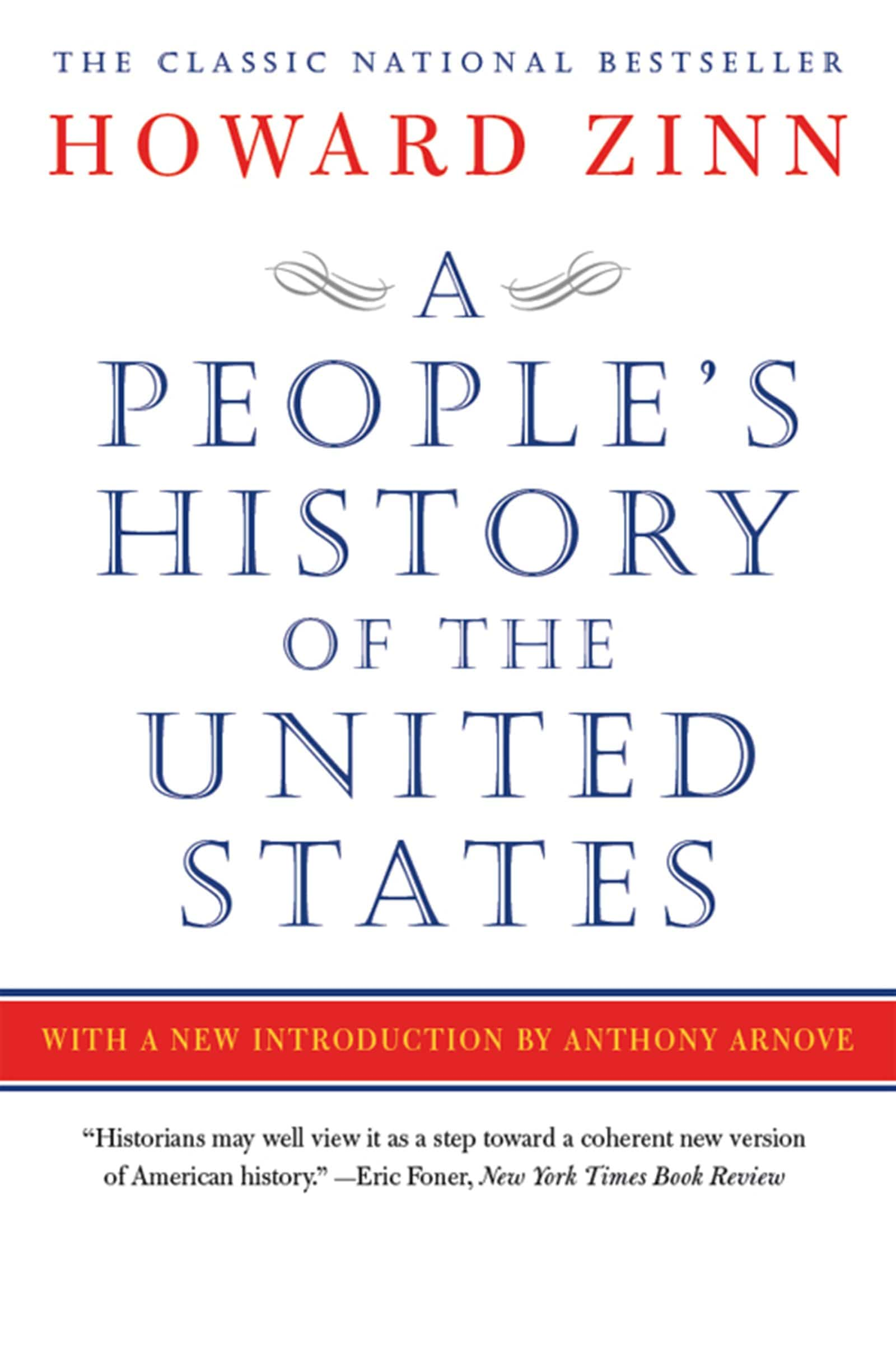 The cover of A People's History of the United States