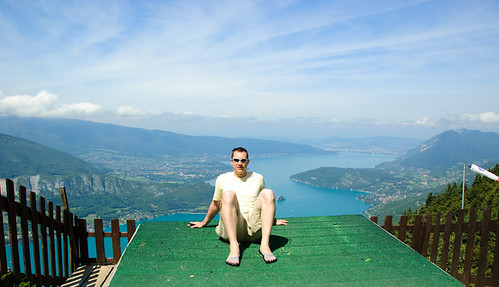 Hanging Above Lac d'Annecy