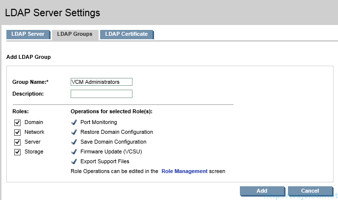 HP Virtual Connect Module Configuration - Domain Settings 6