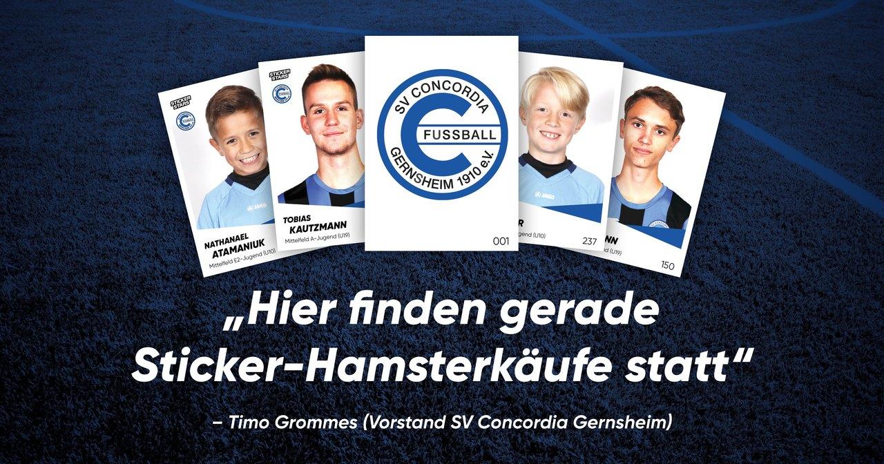 SV Concordia Gernsheim Stickerstars-Interview