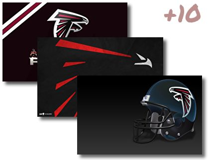 Atlanta Falcons theme pack