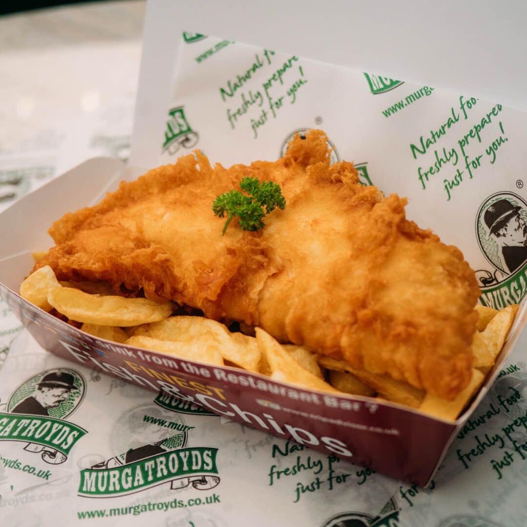 Murgatroyds Haddock and Chips