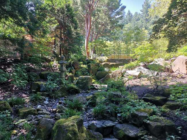 Jardin japonais, Portland