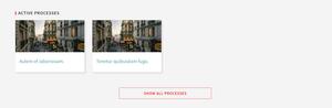 Process groups content block