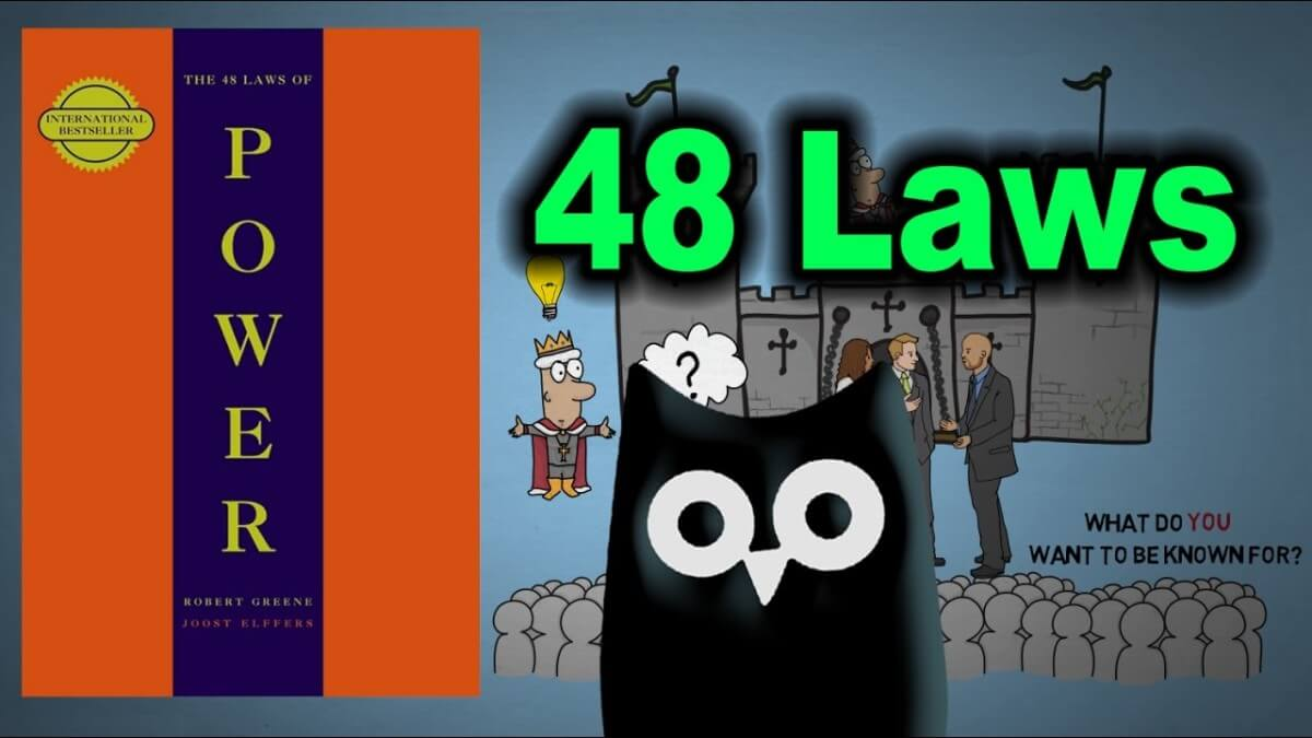 The 48 Laws of Power(Listed)