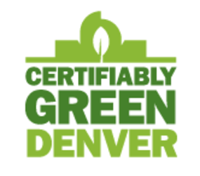 Certifiably Green Denver Logo