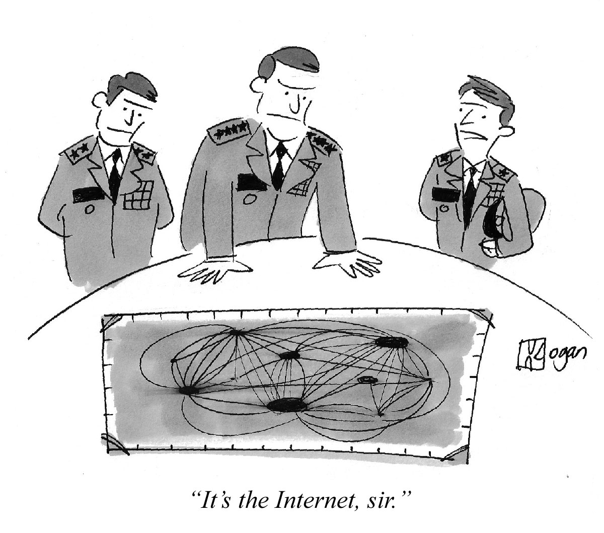 It's the Internet, sir.