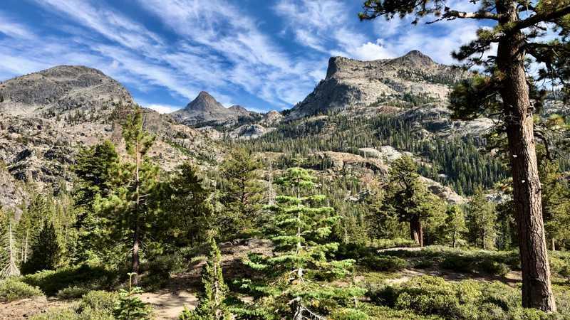 Volunteer Peak and Double Peak