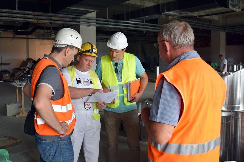 Radnici FSB d.o.o. - protupožarna zaštita na gradilištu