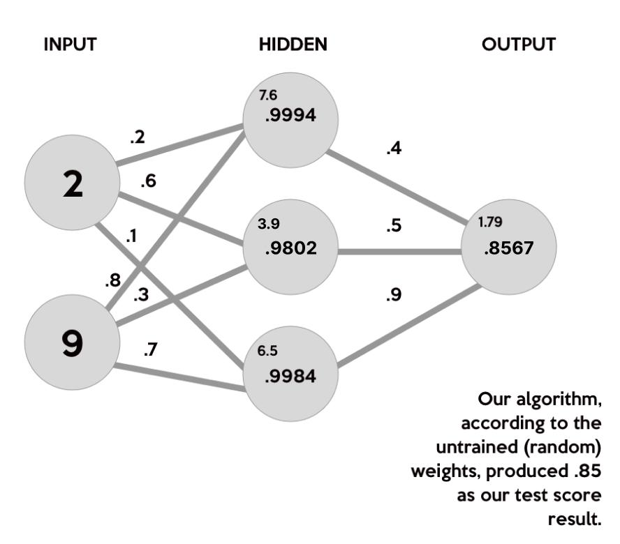 Neural Network Weights Visual