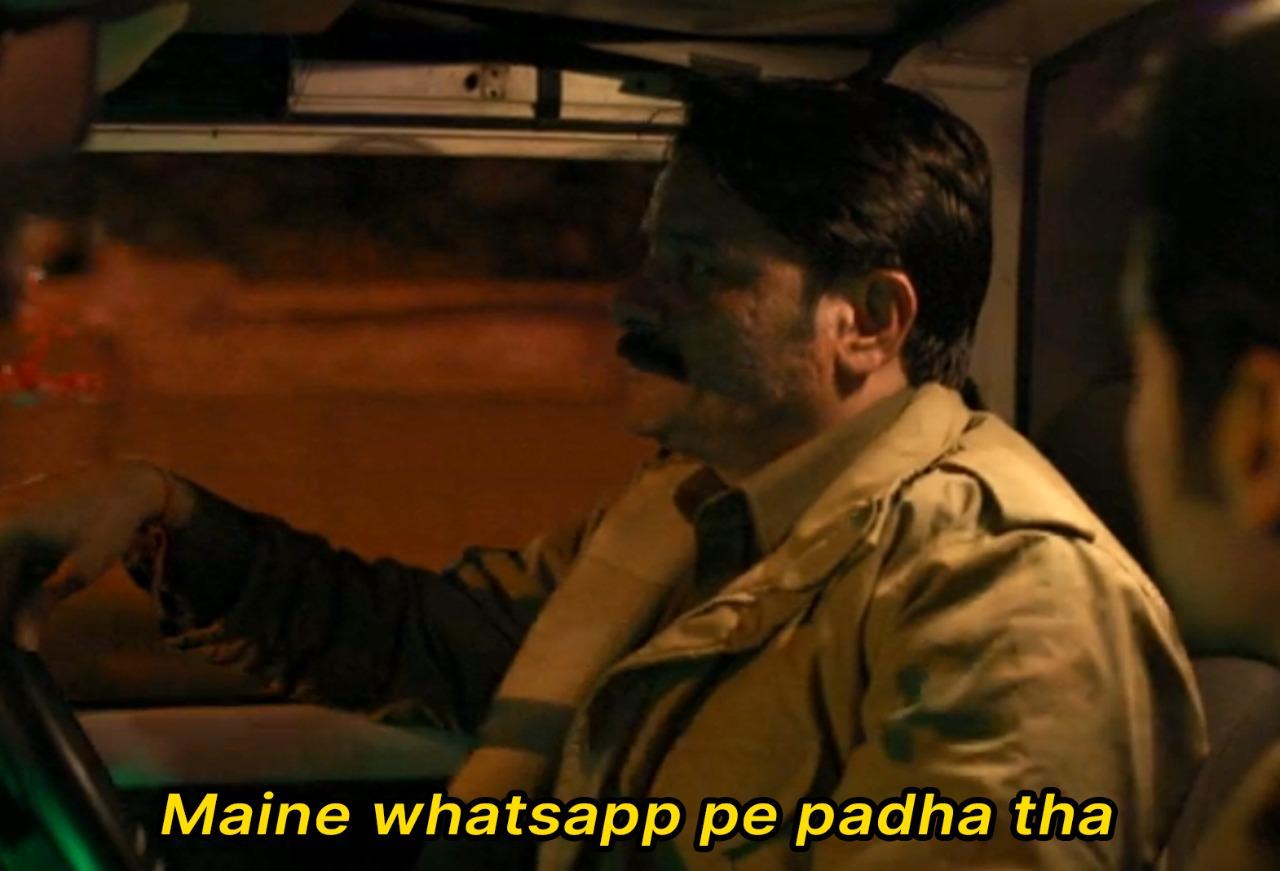 Paatal Lok: Maine Whatsapp Pe Padha Tha