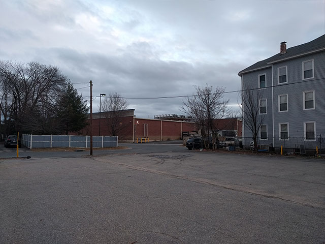 The Coop parking lot at Knowlton Ave in Worcester