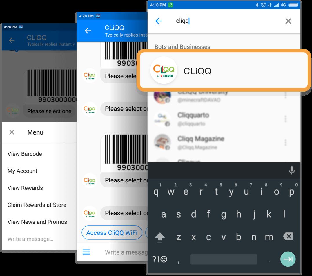 CLiQQ on Messenger