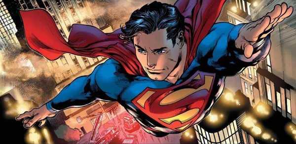 Superman voa para o horizonte em HQ de Bendis