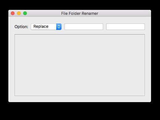 File Folder Renamer