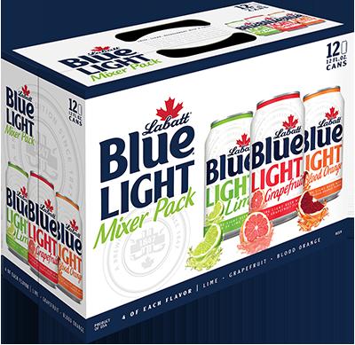 Labatt Blue Light Mixer Pack