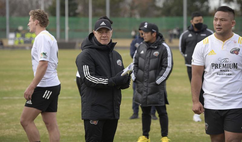サントリーサンゴリアスのヘッドコーチ、ミルトン・ヘイグ