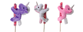 "The Petting Zoo: 6"" Lolly Plush Unicorn Assortment"