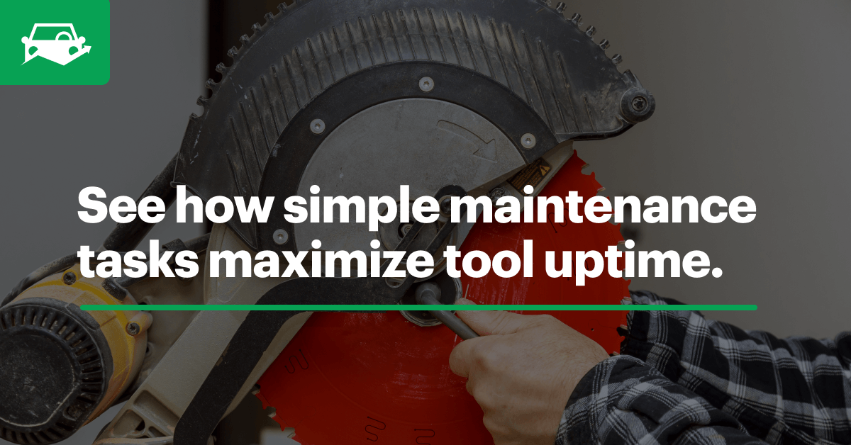 Power tool maintenance blog