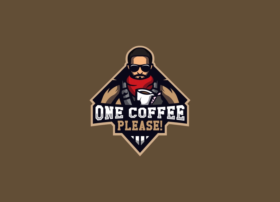 One Coffee Please! team logo