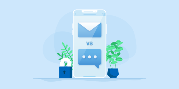 SMS vs Email: How do they compare?