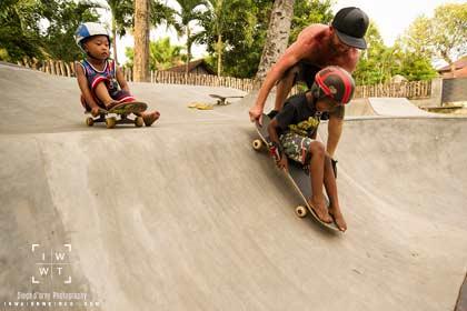 Skate School at Eat Sleep Skate Bali