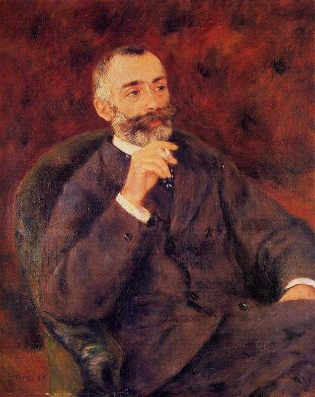 Paul Bérard, a wealthy and well-known French collector, who invited Renoir to his country chateau in Wargemont to paint him and his family after seeing Renoir at the Salon..