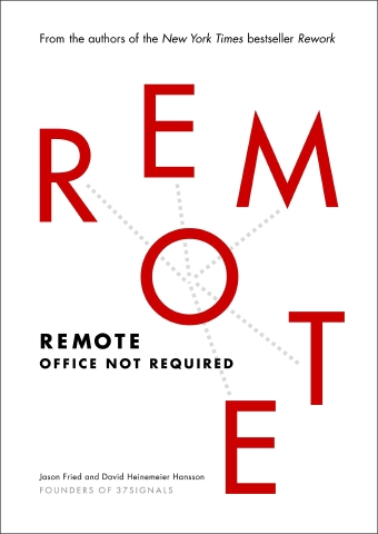 Book cover of 'Remote: Office not required'