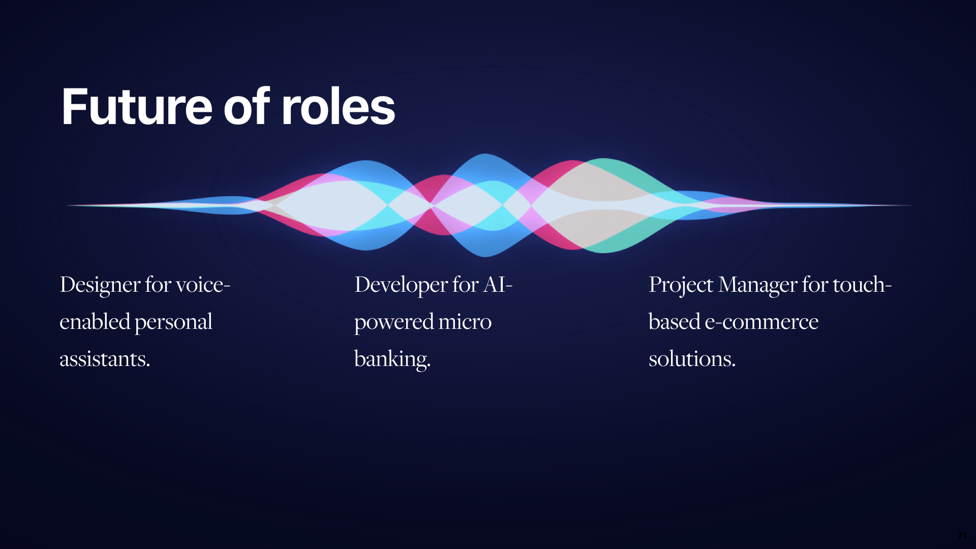 Future of Roles