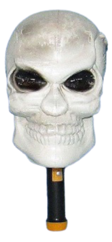 Dead Man Skull Flashing Flashlight photo
