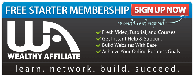 Wealthy Affiliate Signup Here
