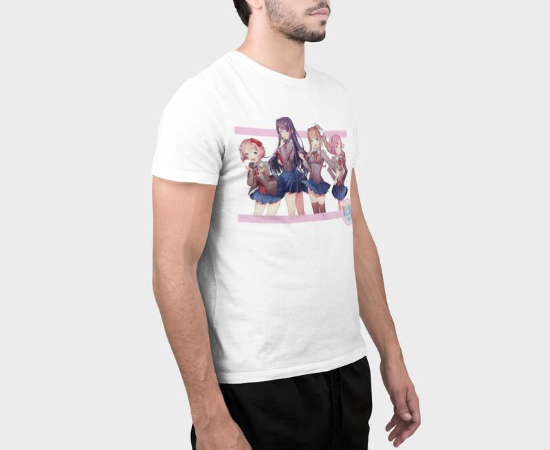 Doki Doki Literature Club Universe Visual Novel T-shirt
