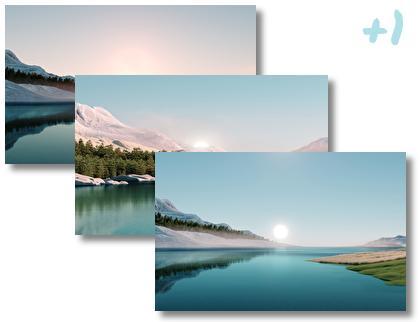 Windows 11 Sunrise theme pack