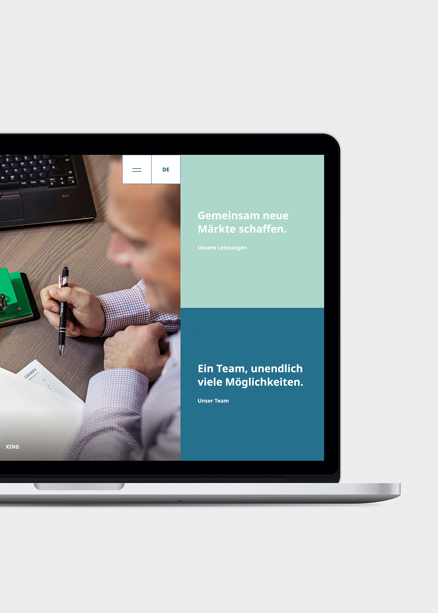Website von Sales2Engineering
