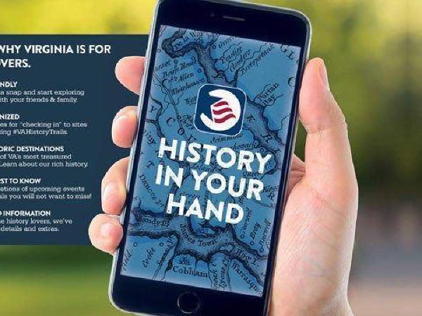 버지니아 역사 유적지 알려주는 어플 출시