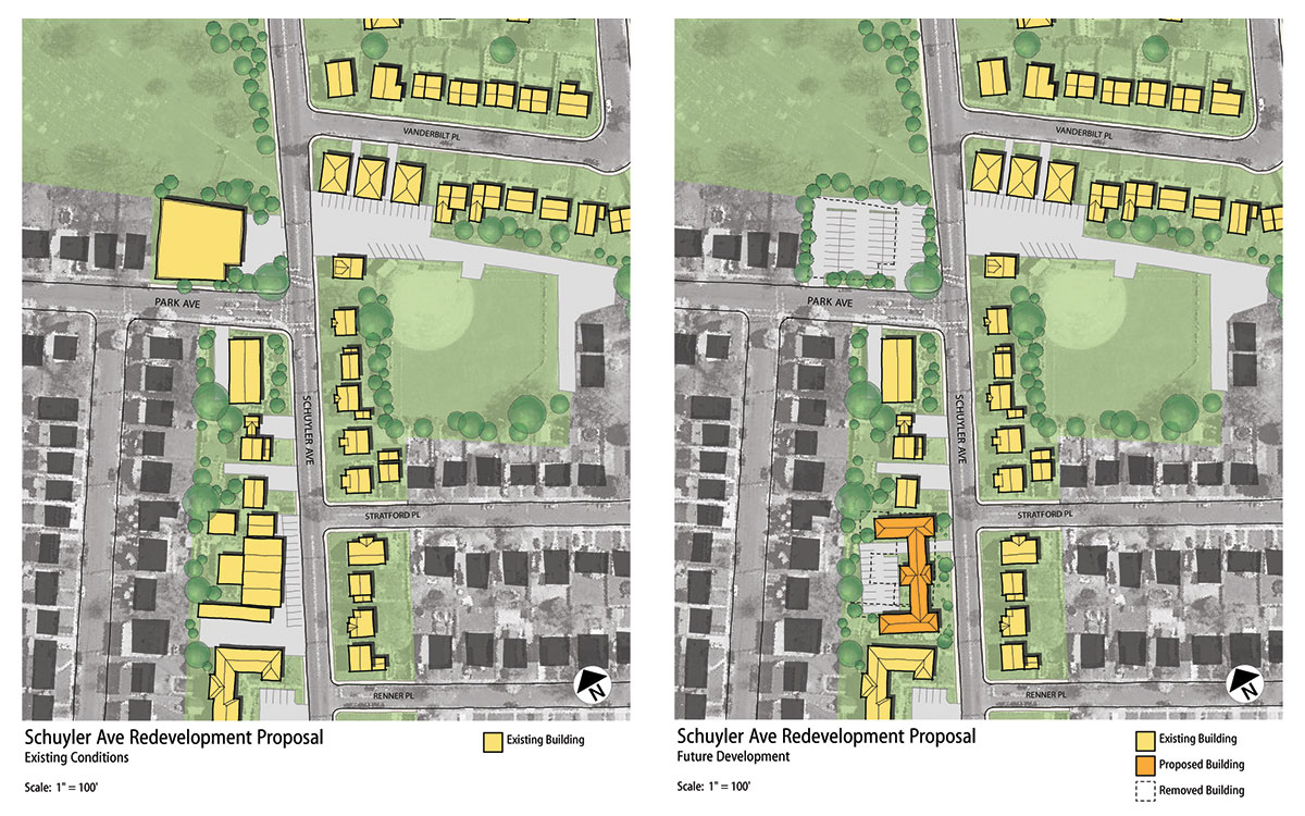 Schuyler Ave Redevelopment Plan