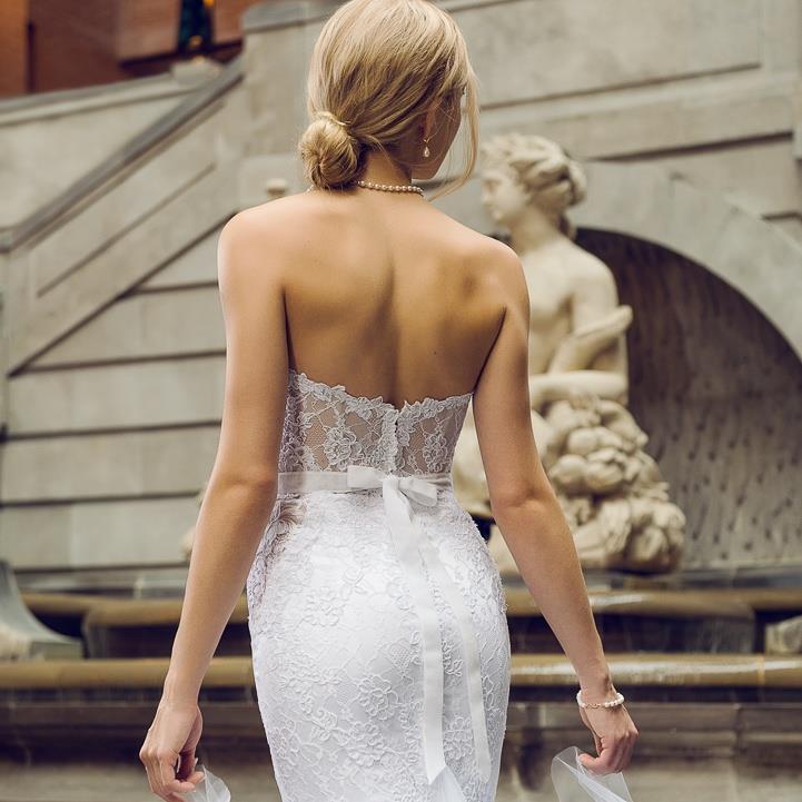 robes de mariee haute couture sur mesure montreal dentelle