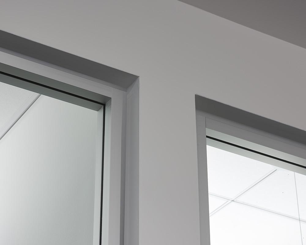 Glass Wall Corners