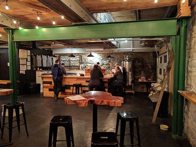Purgatory Beer Company taproom