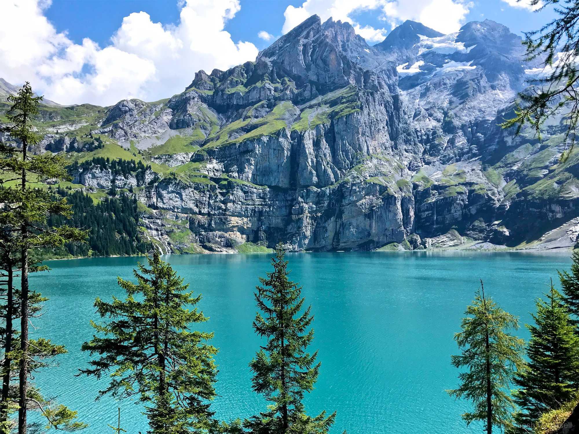 Bern Mountain Lake