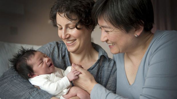 Penny Wong and Family