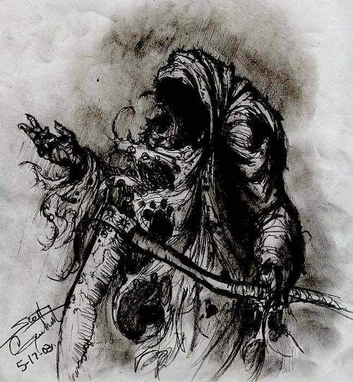 Grim Reaper Gesturing