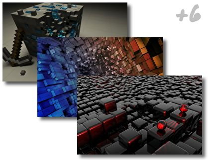 Cube theme pack