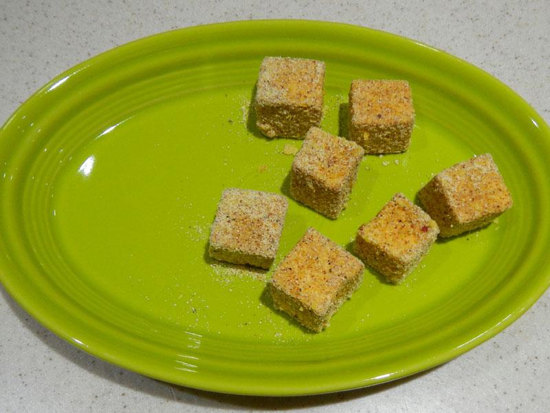 Breaded Tofu Cubes