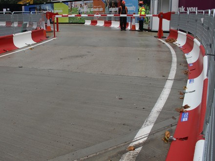 Comparing MASS Crash Tested Barriers, Water-Filled Barriers and Concrete Barriers