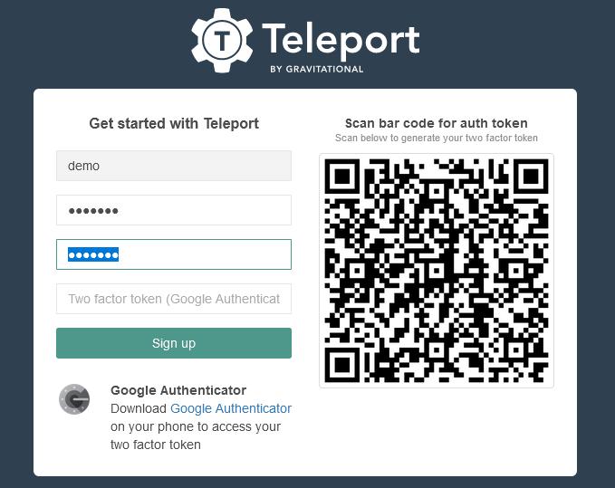 teleport register