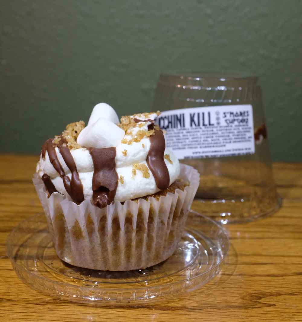 zucchini kill cupcake