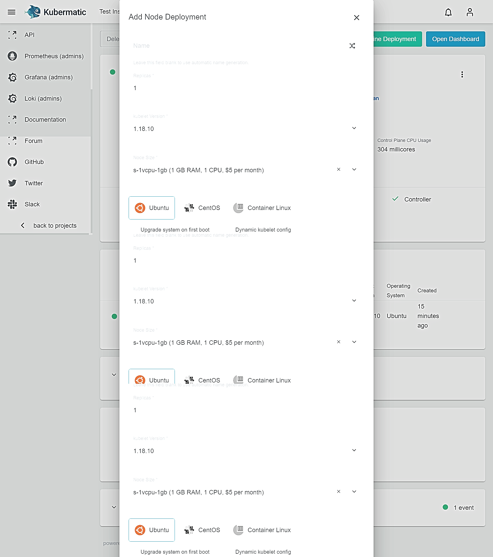 Kubermatic Kubernetes Platform_Adding New Nodes