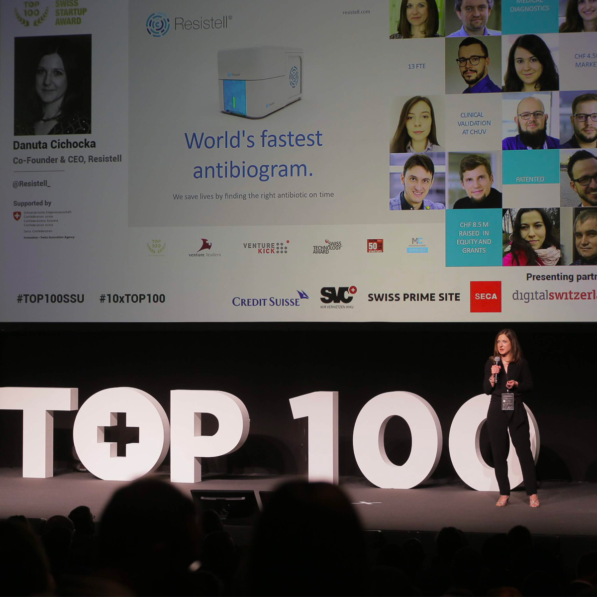 Resistell among TOP 10 best start-ups in Switzerland